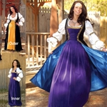 Robe du Soir Renaissance Outer Gown - SOLD SEPARATELY