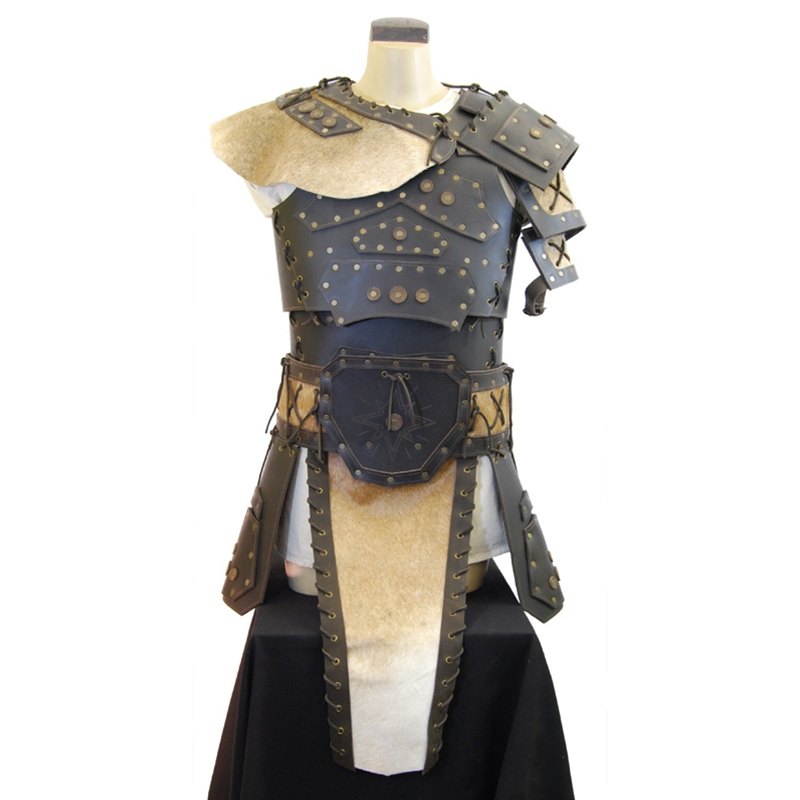 sc 1 st  The Larp Store & The Larp Store - Barbarian Leather Armor Set - Brown