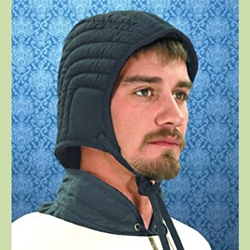 Quilted Arming Cap