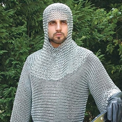 Butted Steel Chainmail Shirt