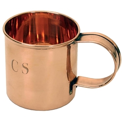 Civil War Solid Copper Coffee Mug - Engraved
