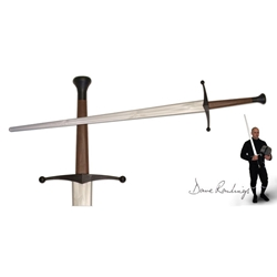 Xtreme Synthetic Sparring Longsword-Silver Blade