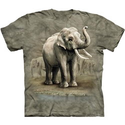 Asian Elephants Adult T-Shirt 43-1018680