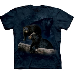Black Bear Trilogy Adult 3X-Large T-Shirt 43-1022590