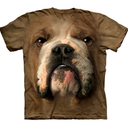 Bulldog Face Adult 3X-Large T-Shirt 43-1032540