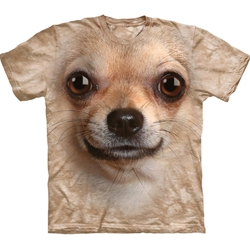 Chihuahua Face Adult T-Shirt 43-1033320