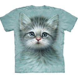 Blue Eyed Kitten Adult 2X-Large T-Shirt 43-1034650