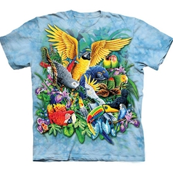 Birds of the Tropics Adult 2X-Large T-Shirt 43-1035080