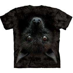 Bat Head Adult Plus Size T-Shirt 43-1035540