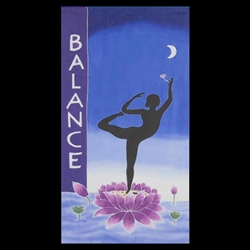 Balance Streamer Wall Hanging 63-06