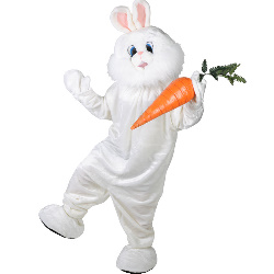 Bunny Plush Deluxe Mascot Adult Costume 100-152350