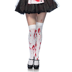 Bloody Zombie Thigh Highs (Adult) 100-199741