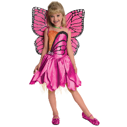 Barbie-Deluxe Mariposa Toddler/Child Costume 100-218053
