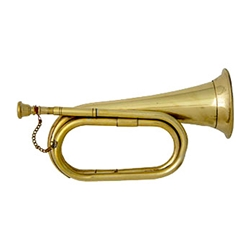 Brass Bugle - Civil War Era