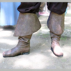 Captain Barbossa Leather Boots